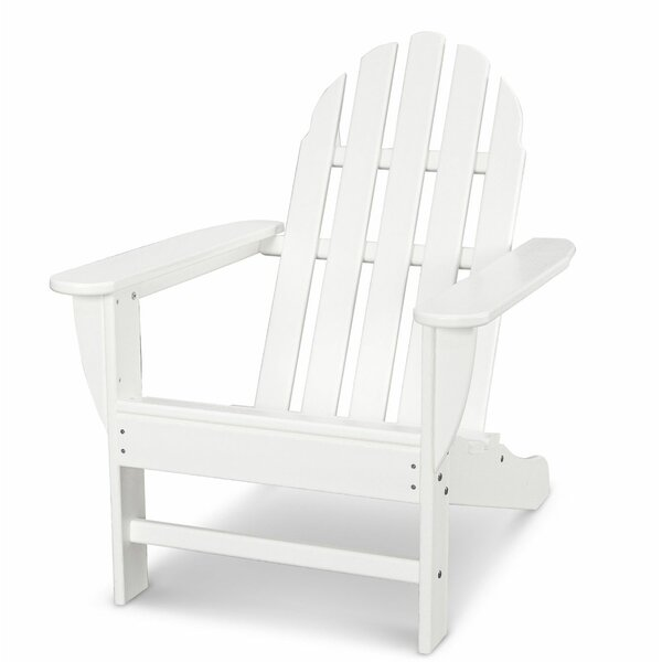 Classic Adirondack Plastic Chair By POLYWOOD®