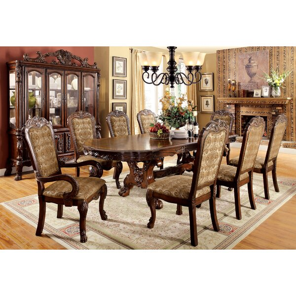 Choudhury Solid Wood Dining Set by Astoria Grand Astoria Grand