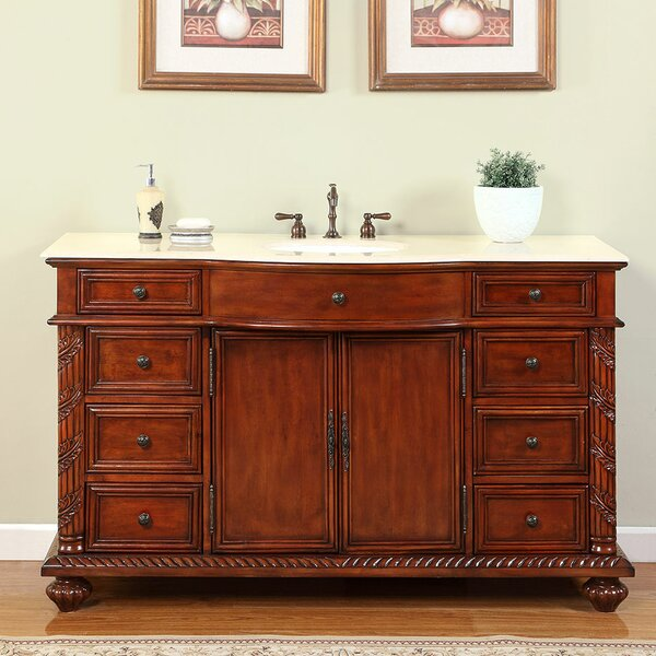 Brenneman 60 Single Bathroom Vanity Set by Fleur De Lis Living