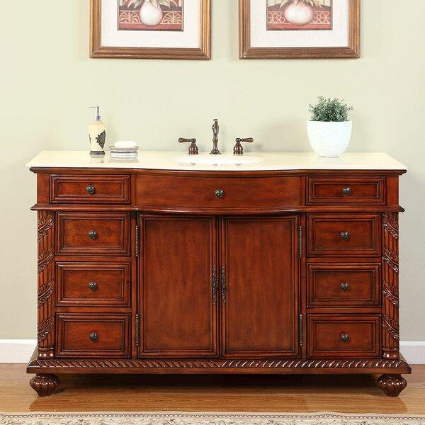 Brenneman 60 Single Bathroom Vanity Set by Fleur De Lis Living