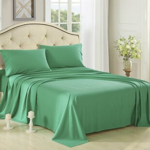 Honeymoon 3 Piece 1800 Collection Brushed Bed Sheet Set By Honeymoon
