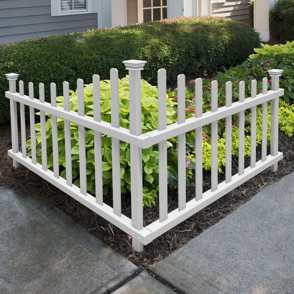 2.5 ft. H x 3.5 ft. W Ashley Accent Fence Panel by Zippity Outdoor Products