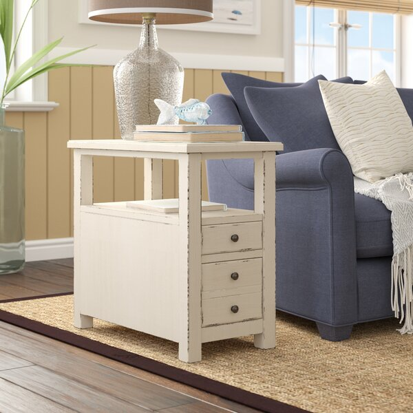 Kemp End Table by Rosecliff Heights