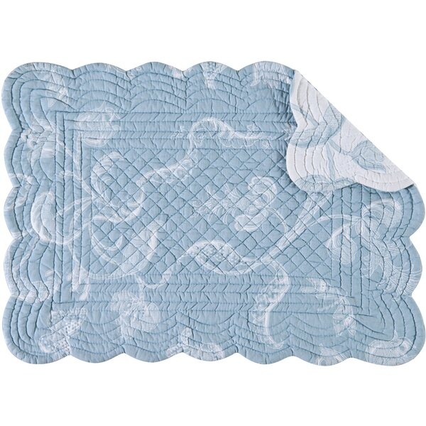 Elsa Placemat (Set of 6) by C&F Home