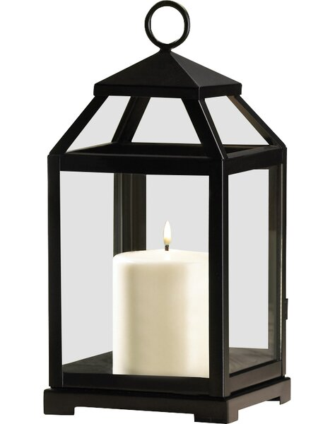 Contemporary Iron Lantern by Laurel Foundry Modern Farmhouse