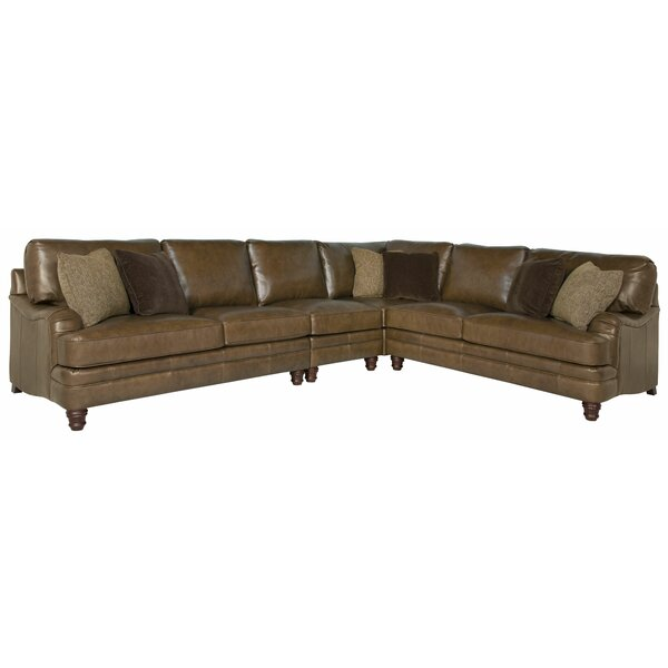 Tarleton Leather Modular Sectional by Bernhardt