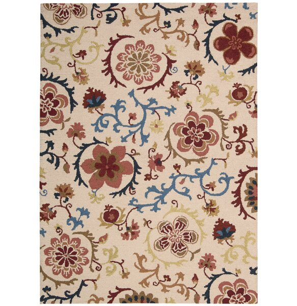 Anders Hand-Tufted Ivory Area Rug by Red Barrel Studio