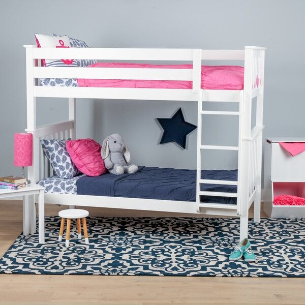 Joleen Twin over Twin Bunk Bed by Harriet Bee