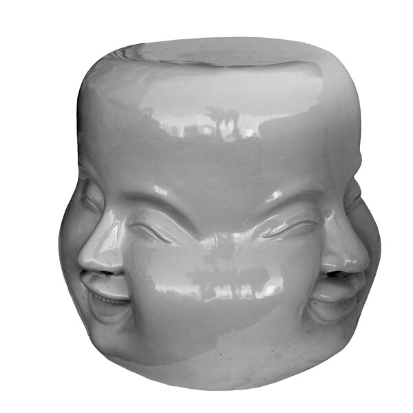 Four Face Stool by Asian Art Imports