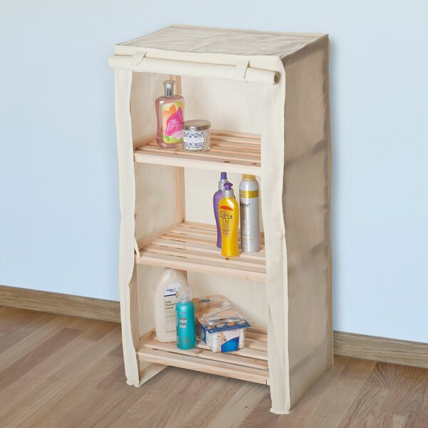 17.75 W x 34.25 H Bathroom Shelf by Lavish Home