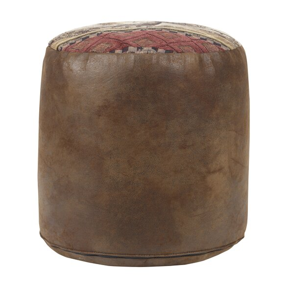 Deer Valley Tapestry Pouf by American Furniture Classics