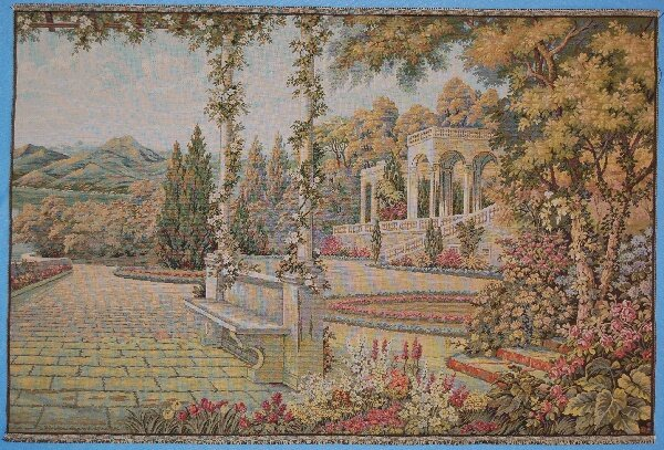 Perfect Mansion Day Scenery Tapestry by Astoria Grand
