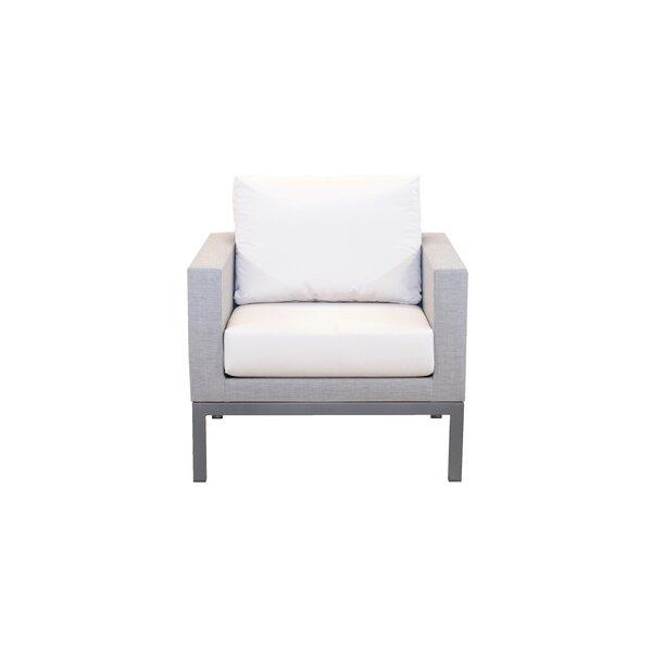 Aerin Patio Chair with Sunbrella Cushions by Brayden Studio