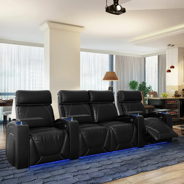 Zone HR Series Home Theater Loveseat (Row Of 4) By Winston Porter