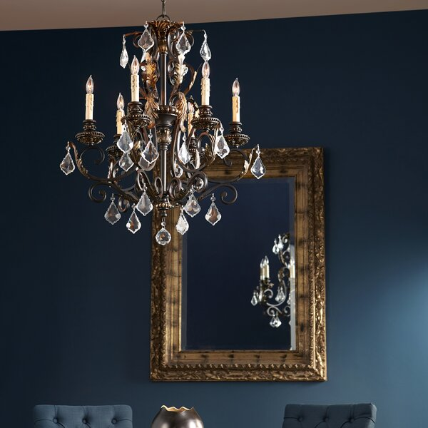 Ancram 6-Light Candle Style Classic / Traditional Chandelier By Astoria Grand