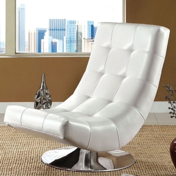 Trinidad Swivel Lounge Chair by A&J Homes Studio