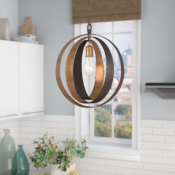 Mason 1-Light Pendant by Corrigan Studio