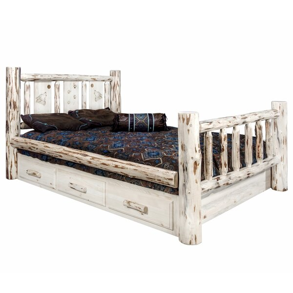 Antigo Storage Platform Bed by Millwood Pines