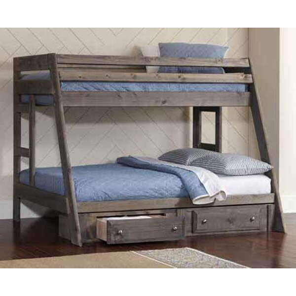 Wrangler Twin Over Full Bunk Bed by Coaster