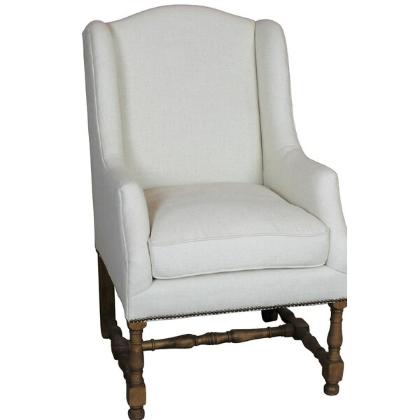 Brigman Wingback Chair by Canora Grey