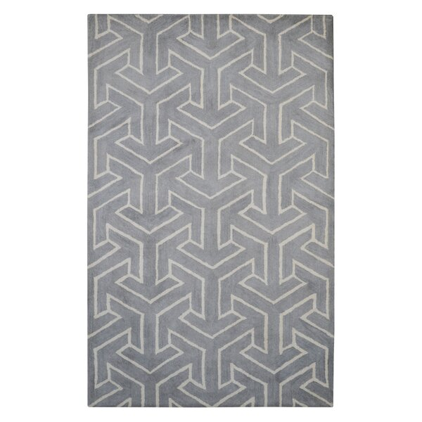 Modern Marvel Hand-Tufted Gray Area Rug by Eastern Weavers