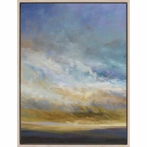 'Coastal Clouds I' by Finch Framed Painting Print by Paragon
