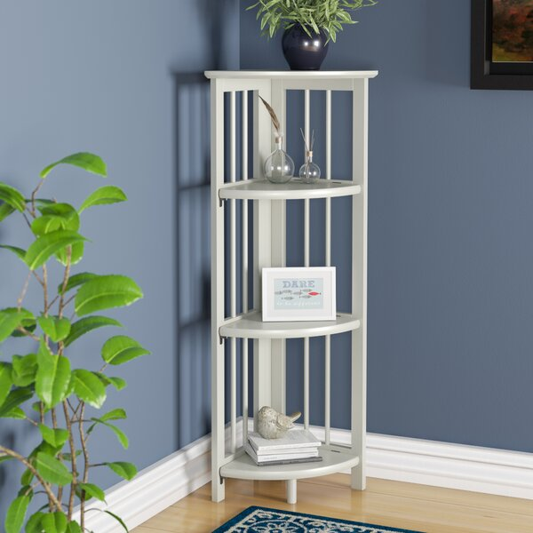 Duerr Corner Unit Bookcase by Charlton Home