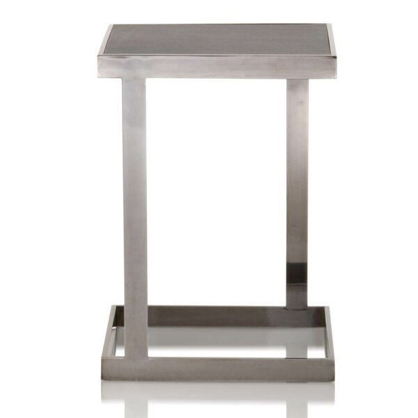 Margaret Metal Base End Table by Foundry Select