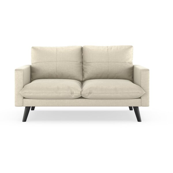 Shop The Best Selection Of Woodhollow Mod Velvet Loveseat by Corrigan Studio by Corrigan Studio