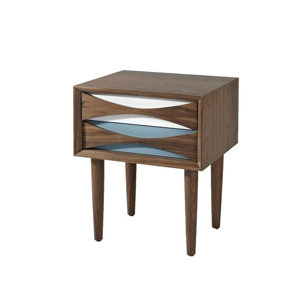 Bradburn Wood 2 Drawer Bachelors Chest by Corrigan Studio