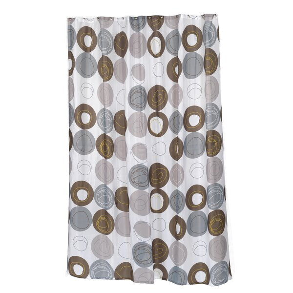 Madison Shower Curtain by Carnation Home Fashions