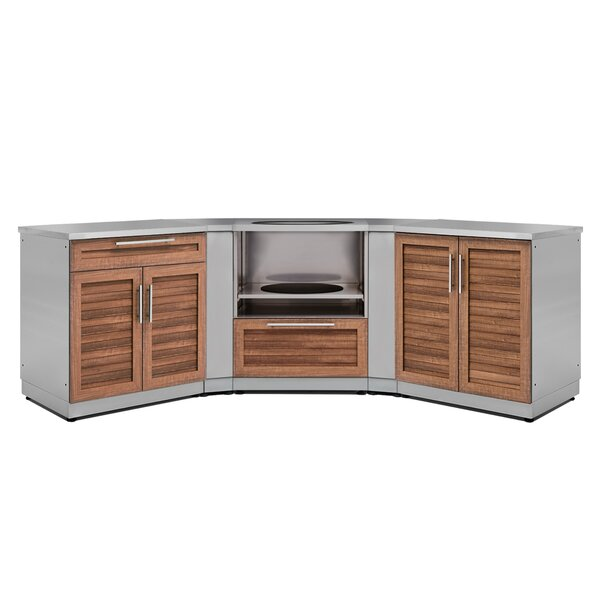 6 Piece Kitchen Outdoor Bar Center Set by NewAge Products