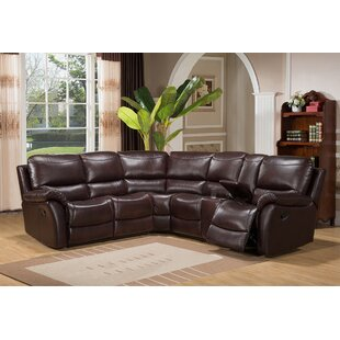 West Coast Reclining Sectional By Amax