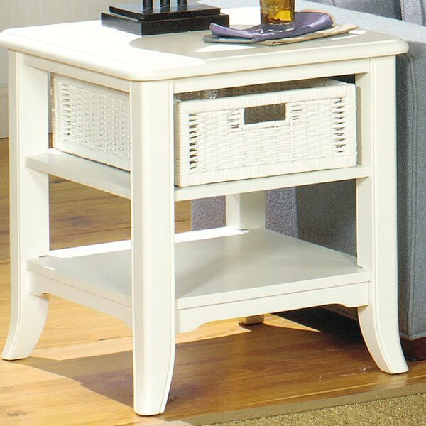 Kentmere End Table With Storage by Breakwater Bay