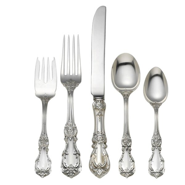 5 Piece Flatware Set by Reed & Barton