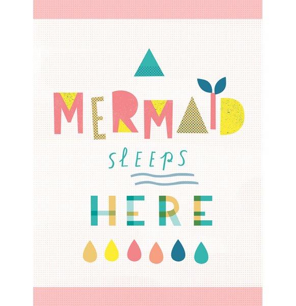 Cuccia A Mermaid Sleeps Here by Bianca Pozzi by Harriet Bee
