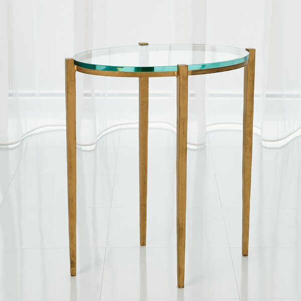 Petite Oval End Table By Global Views