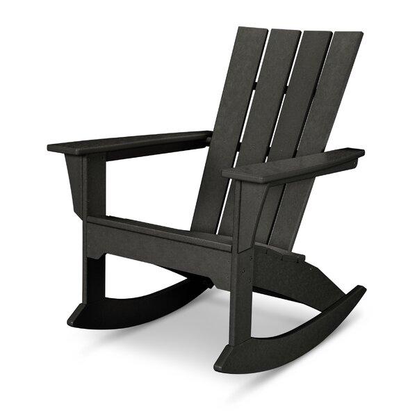 Quattro Plastic Rocking Adirondack Chair by POLYWOOD®