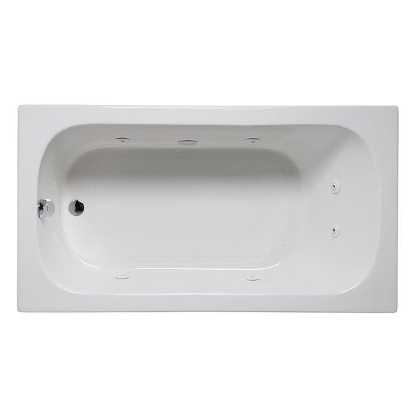 Miro 66 x 36 Drop in Whirlpool Bathtub by Americh