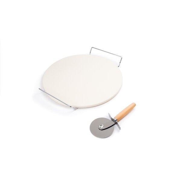 3-Piece Round Pizza Stone Set by Fox Run Brands