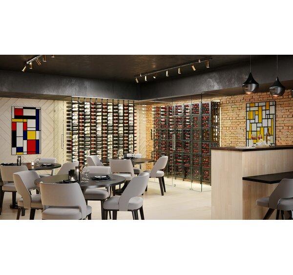 Issleib Locker 144 Bottle Floor Wine Bottle Rack by Rebrilliant Rebrilliant