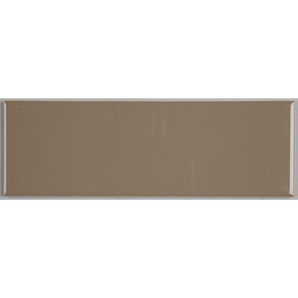Berkeley 4 x 12 Ceramic Subway Tile in Elemental Tan by Itona Tile