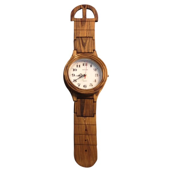 Giant Wrist Watch Clock by Creative Motion