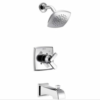 Ashlyn Monitor® Pressure Balance Tub and Shower Faucet Trim with Monitor by Delta