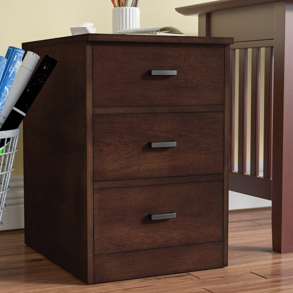 Mary 3-Drawer Lateral Filing Cabinet by Charlton Home