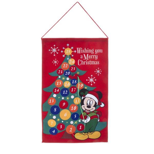 Mickey Fabric Advent Calendar by Kurt Adler