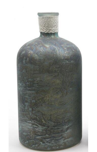 Seaside Treasures Handcrafted Marbled Glass Vase by Northlight Seasonal