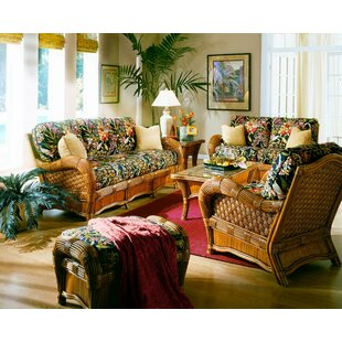 Homewood 6 Piece Conservatory Living Room Set by Bay Isle Home™