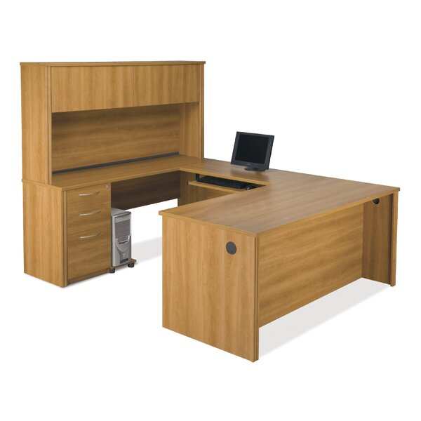 Witchel U-Shape Executive Desk with Hutch by Latitude Run