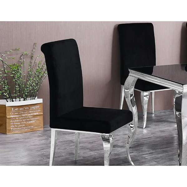 Mahn Upholstered Dining Chair (Set Of 2) By Rosdorf Park